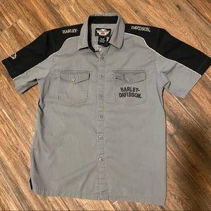 Harley Davidson Men's Button Down Shirt size Large